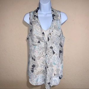 Daniel Rainn blouse with attached cami size S